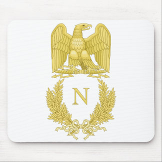 Emblème de napoléon tapis de souris