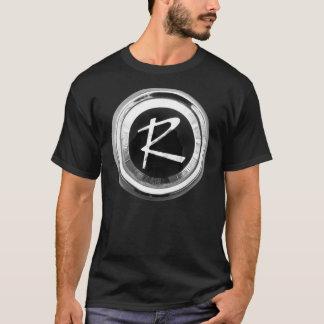 Emblème de randonneur t-shirt