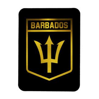 Emblème des Barbade Magnet Flexible
