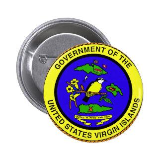 Emblème des Îles Vierges américaines Badges Avec Agrafe