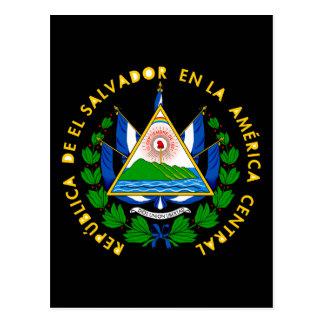 emblème du Salvador Carte Postale