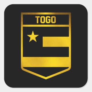 Emblème du Togo Sticker Carré