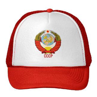 Emblème d'Union Soviétique avec CCCP Casquette Trucker