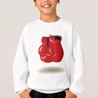 Emblème frais de boxe sweatshirt