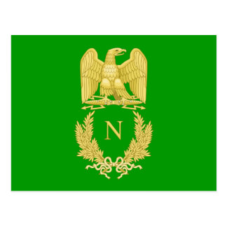 Emblème impérial de carte postale du napoléon I