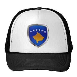 Emblème métallique de Kosovo Casquettes