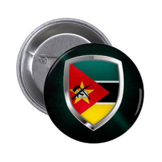 Emblème métallique de la Mozambique Badge