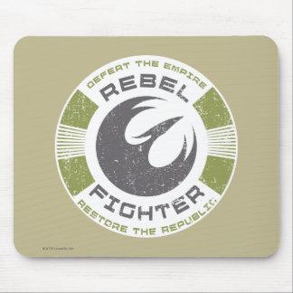 Emblème rebelle de combattant de Star Wars Tapis De Souris