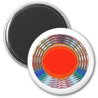 Emblème ROUGE de scintillement de Deco : Les CADEA Aimant