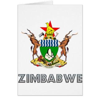 Emblème zimbabwéen cartes