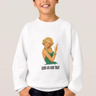 embrassez l'amusement de plateau de cendre sweatshirt