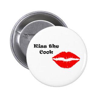 Embrassez le cuisinier grand badge