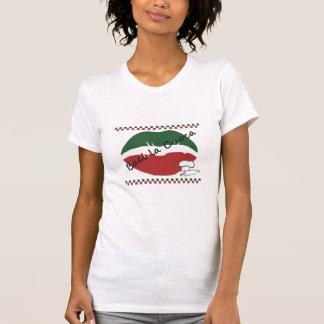 Embrassez le T-shirt des femmes de cuisinier