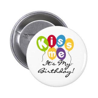 Embrassez-moi anniversaire pin's