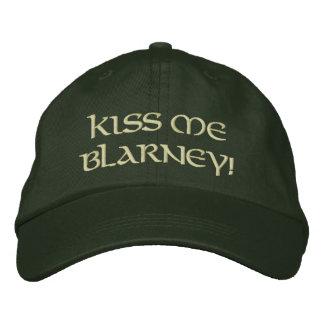 Embrassez-moi cajolerie casquette brodée