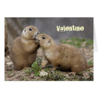 Embrassez-moi carte rapide - Valentine