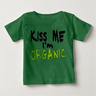 Embrassez-moi Im organique T-shirt Pour Bébé