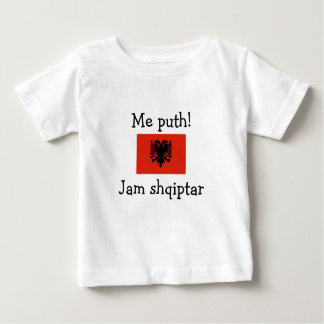 Embrassez-moi ! Je suis albanais (le garçon) T-shirts