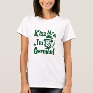 Embrassez-moi, je suis T-shirt allemand
