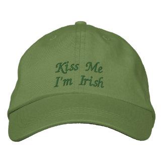 Embrassez-moi que je suis casquette/casquette casquette brodée
