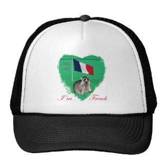 Embrassez-moi que je suis chapeau français casquette de camionneur