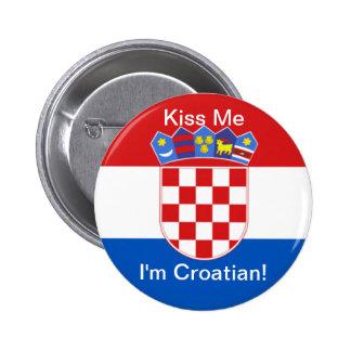Embrassez-moi que je suis croate ! badges
