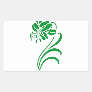 Embrassez-moi que je suis IRLANDAIS Sticker Rectangulaire