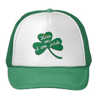 Embrassez-moi que je suis irlandais casquette de camionneur