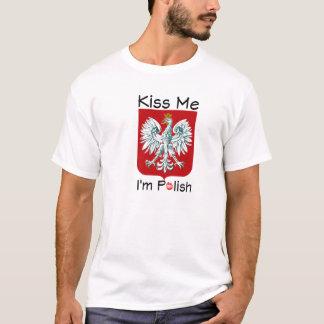 Embrassez-moi que je suis polonais t-shirt