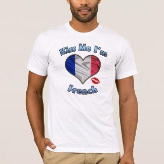 Embrassez-moi que je suis T-shirt français de