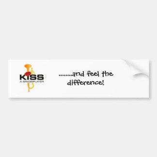 Embrassez un Brassplayer Autocollant Pour Voiture