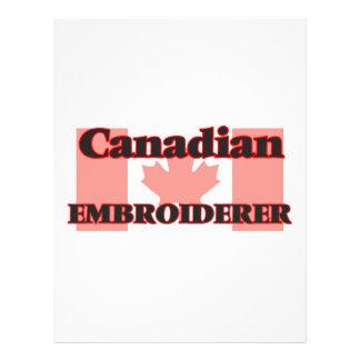 Embroiderer canadien prospectus 21,6 cm x 24,94 cm