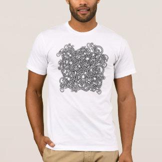 Embrouillé dans des vélos - le T-shirt du cycliste