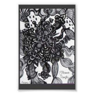 Embrouillement de fleur inspiré photos d'art