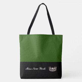 Émeraude de Fourre-tout de couronne argentée de la Tote Bag