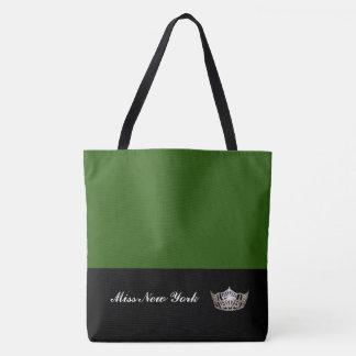 Émeraude de Fourre-tout de couronne argentée de Tote Bag