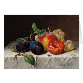 Emilie Preyer : Fruits et mouche Cartes