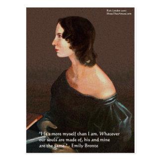 """Emily Bronte """"âmes les mêmes"""" cadeaux et cartes de Carte Postale"""