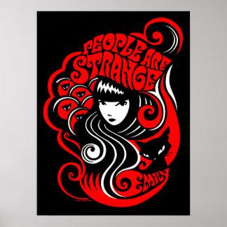Emily l'étrange : Les gens sont étranges Posters