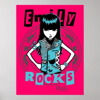 Emily l'étrange : Punk de rue Posters