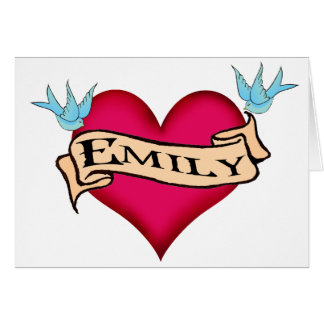 Emily - T-shirts et cadeaux faits sur commande de Cartes
