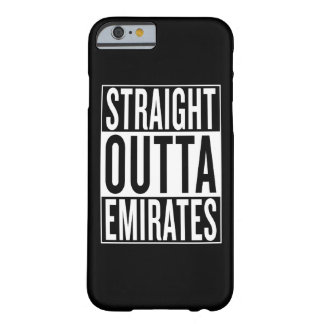 émirats droits d'outta coque barely there iPhone 6
