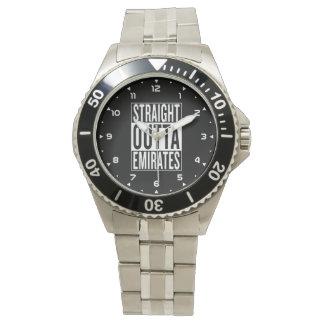 émirats droits d'outta montres