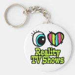 Émissions de TV intelligentes de réalité d'amour d Porte-clés
