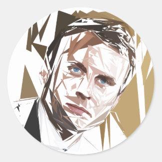 Emmanuel Macron Sticker Rond