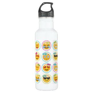 Emoji 24 bouteilles d'eau d'once