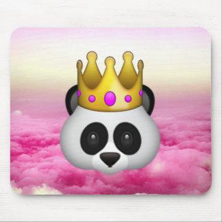 Emoji a couronné le panda tapis de souris