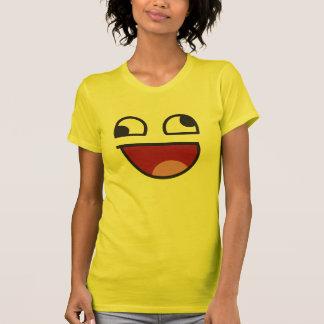 Emoji chancelant drôle d'oeil t-shirt
