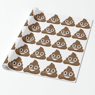 emoji de dunette papier cadeau noël