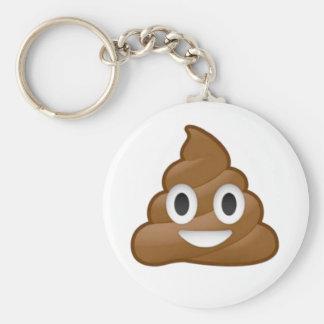 Emoji de dunette porte-clés
